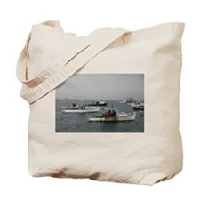 Lobster Boats Maine Tote Bag
