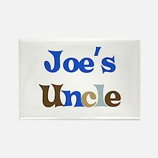 Joe's Uncle Rectangle Magnet