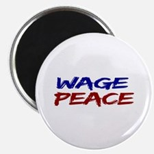 """Wage Peace 2.25"""" Magnet (100 pack)"""