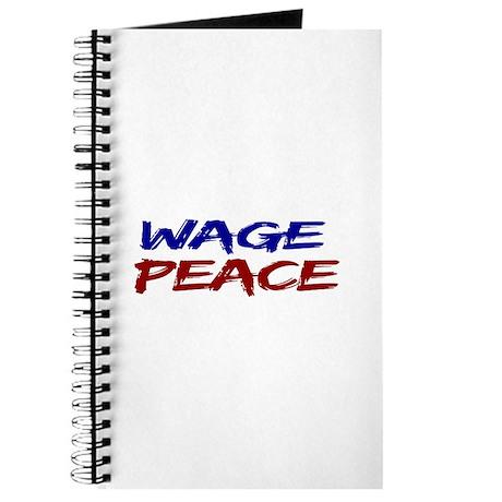 Wage Peace Journal