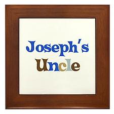Joseph's Uncle  Framed Tile
