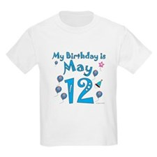May 12th Birthday T-Shirt
