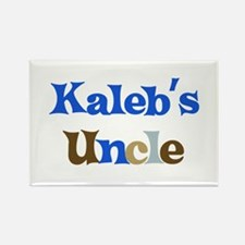 Kaleb's Uncle Rectangle Magnet