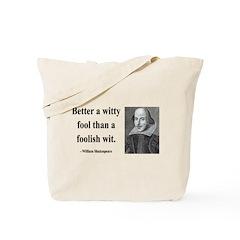 Shakespeare 11 Tote Bag