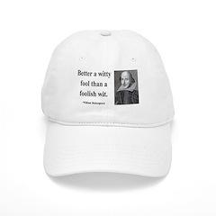 Shakespeare 11 Baseball Cap