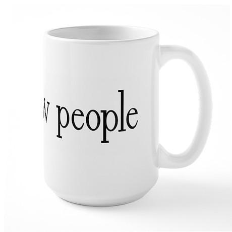 I can grow people Large Mug