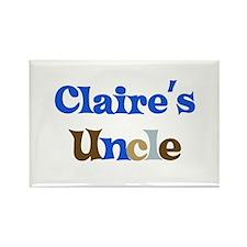Claire's Uncle Rectangle Magnet