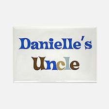 Danielle's Uncle Rectangle Magnet