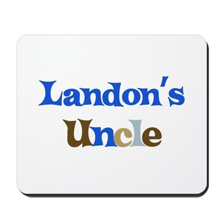 Landon's Uncle Mousepad