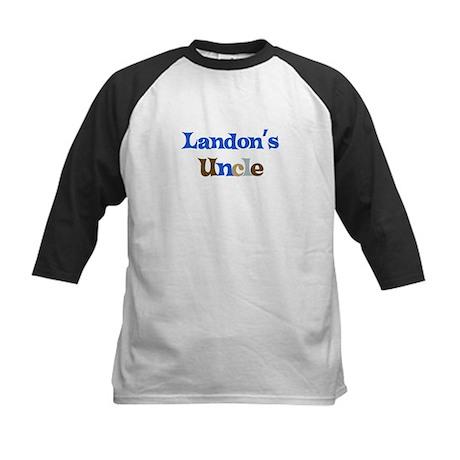 Landon's Uncle Kids Baseball Jersey