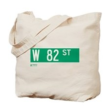 82nd Street in NY Tote Bag