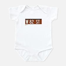 82nd Street in NY Infant Bodysuit