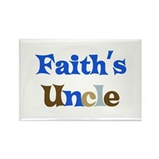 Faith's Uncle Rectangle Magnet