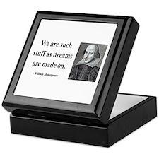 Shakespeare 12 Keepsake Box