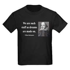 Shakespeare 12 Kids Dark T-Shirt