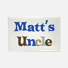 Matt's Uncle Rectangle Magnet