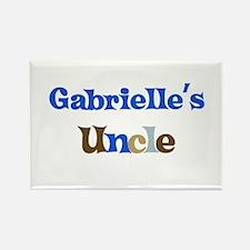 Gabrielle's Uncle Rectangle Magnet