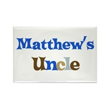 Matthew's Uncle Rectangle Magnet