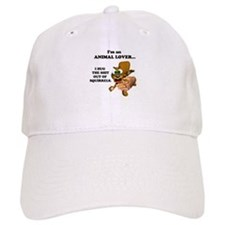 Animal Lover (Hug Shit Outta Squirrels) Baseball Cap