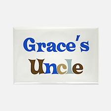 Grace's Uncle Rectangle Magnet