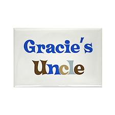 Gracie's Uncle Rectangle Magnet