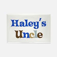 Haley's Uncle Rectangle Magnet