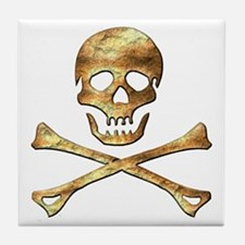 Jolly Roger 1 Tile Coaster