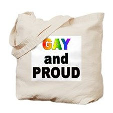 GAY and PROUD Tote Bag