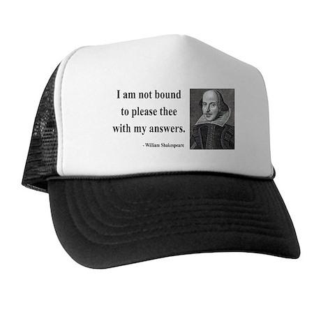 Shakespeare 13 Trucker Hat
