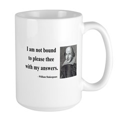Shakespeare 13 Large Mug