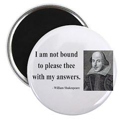 """Shakespeare 13 2.25"""" Magnet (10 pack)"""