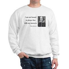 Shakespeare 13 Sweatshirt