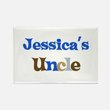 Jessica's Uncle Rectangle Magnet