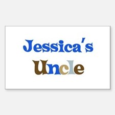 Jessica's Uncle Rectangle Decal