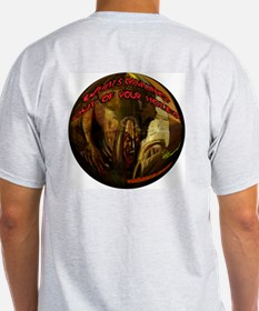What's Crawling Out of Your Hole 2 Round T-Shirt
