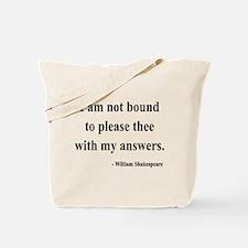 Shakespeare 13 Tote Bag