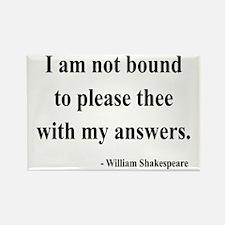 Shakespeare 13 Rectangle Magnet (10 pack)
