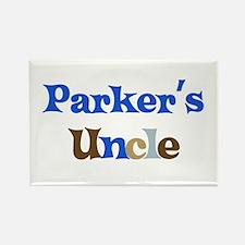 Parker's Uncle Rectangle Magnet