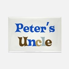 Peter's Uncle Rectangle Magnet