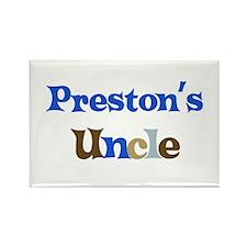 Preston's Uncle Rectangle Magnet