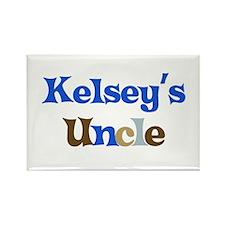 Kelsey's Uncle Rectangle Magnet