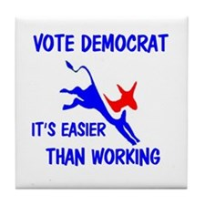 DEMOCRAT Tile Coaster