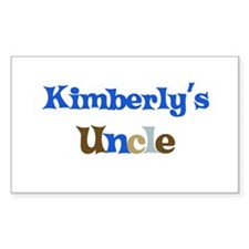 Kimberly's Uncle Rectangle Decal