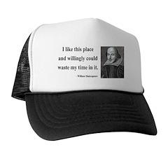 Shakespeare 15 Trucker Hat