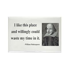 Shakespeare 15 Rectangle Magnet (100 pack)