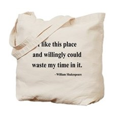 Shakespeare 15 Tote Bag