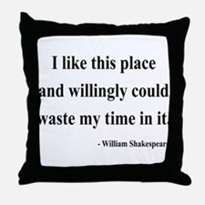 Shakespeare 15 Throw Pillow