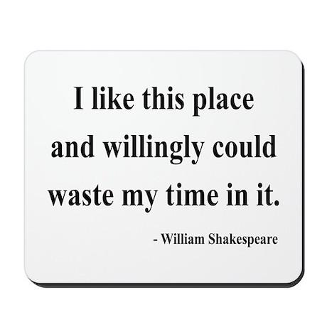 Shakespeare 15 Mousepad
