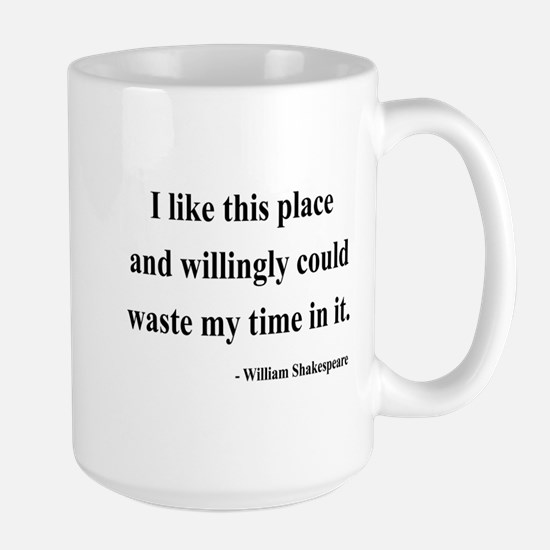 Shakespeare 15 Large Mug