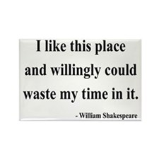 Shakespeare 15 Rectangle Magnet